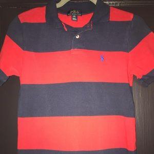 Boys Ralph Lauren Cotton Mesh Polo Shirt